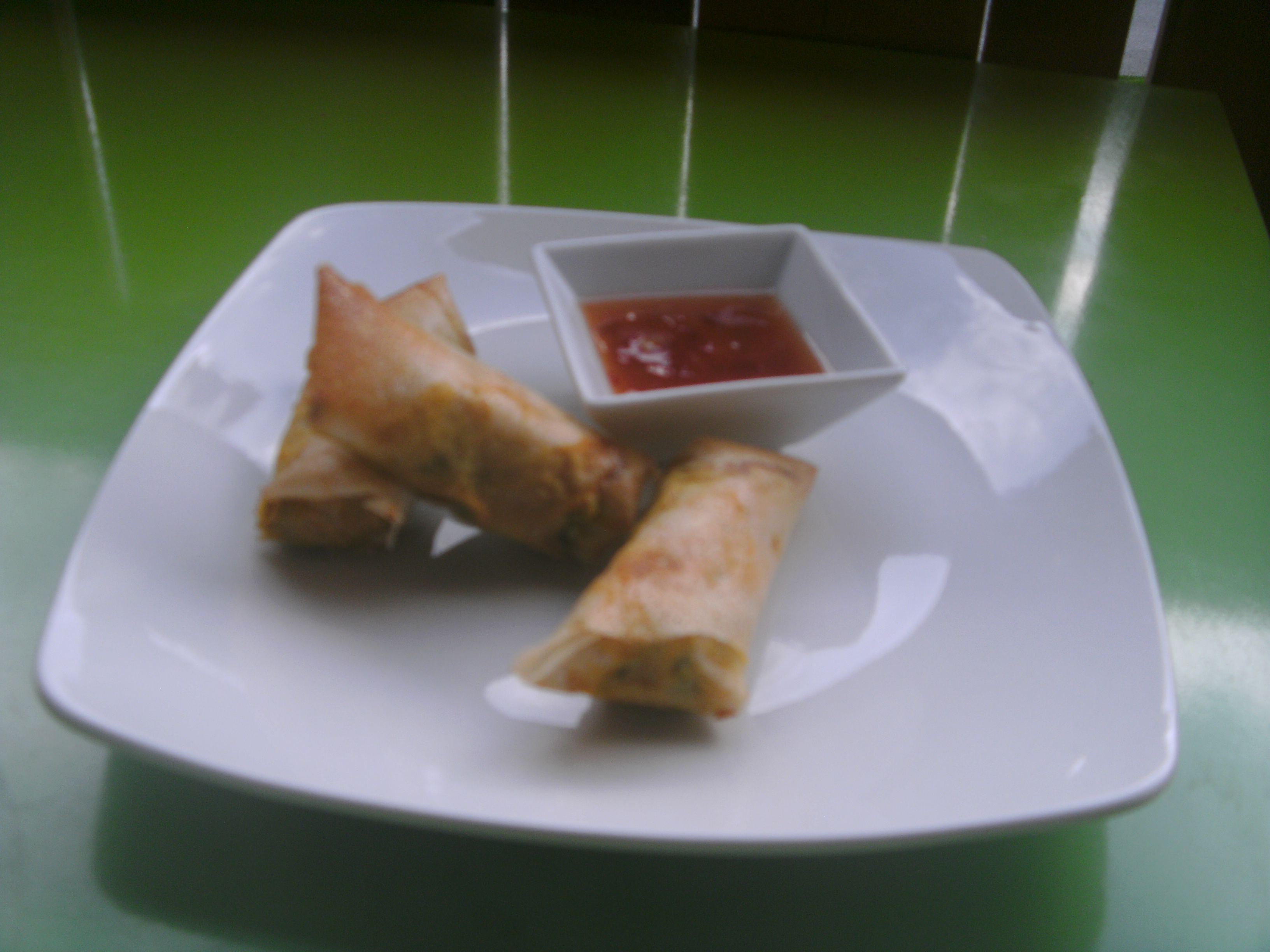 Vegetable spring rolls recipe by Chez Toi caterers in Morzine