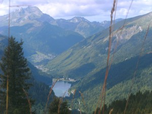 Lac de Montriond, Morzine during autumn